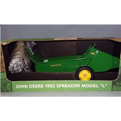JD 1952 Model L manure spreader, 1:8, NIB