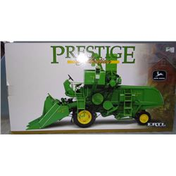 JD 45 combine, s. p., ERTL, corn header, in box