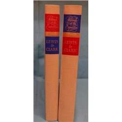 Heritage Edition of Lewis & Clark Journals, Volume 1 & 2, 1962, in slip cases, F/LN