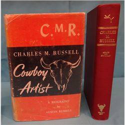 2 books: Adams and Britzman, Charles M. Russell Biography, 1957, 3rd, G/VG;
