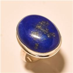 Blue Lapis RING Solid Sterling Silver