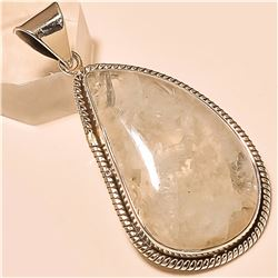 Moonstone Pendant Solid Sterling Silver