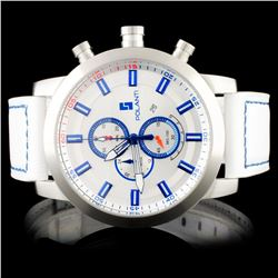 Polanti SS White Rogue Wristwatch