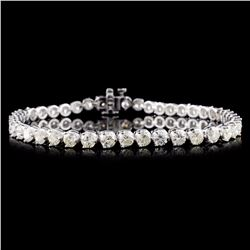 14K Gold 6.25ctw Diamond Bracelet