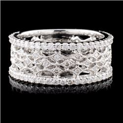 18K White Gold 0.95ct Diamond Ring