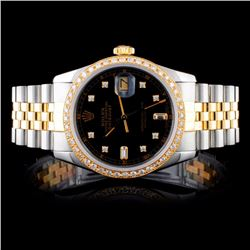 Rolex DateJust 1.00ct Diamond Gent's Watch