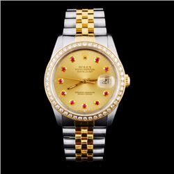 Rolex DateJust 1.00ct Diamond Men's Watch