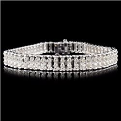 14K Gold 3.00ctw Diamond Bracelet