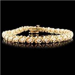 14K Gold 2.00ctw Diamond Bracelet