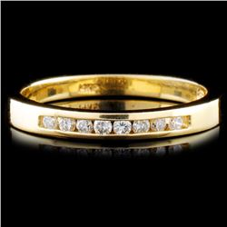 14K Gold 0.14ctw Diamond Ring