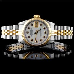 Rolex YG/SS DateJust Ladies Wristwatch