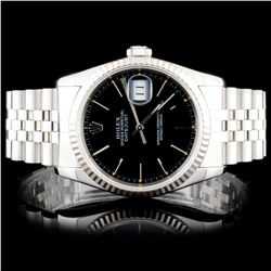 Rolex SS DateJust Wristwatch
