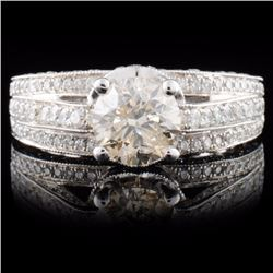 18K White Gold 2.65ctw Diamond Ring
