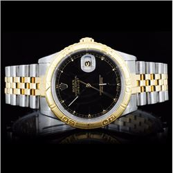 Rolex YG/SS DateJust Men's Wristwatch