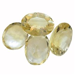 30.41ctw Oval Mixed Citrine Quartz Parcel