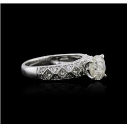 18KT White Gold 1.73ctw Diamond Ring