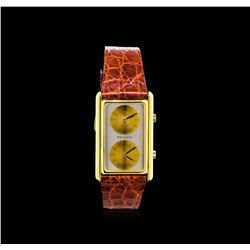 Bvlgari 18KT Yellow Gold Dual Time Watch