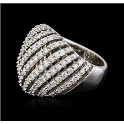 14KT White Gold 1.82ctw Diamond Ring