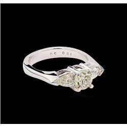 1.50ctw Diamond Ring - 14KT White Gold