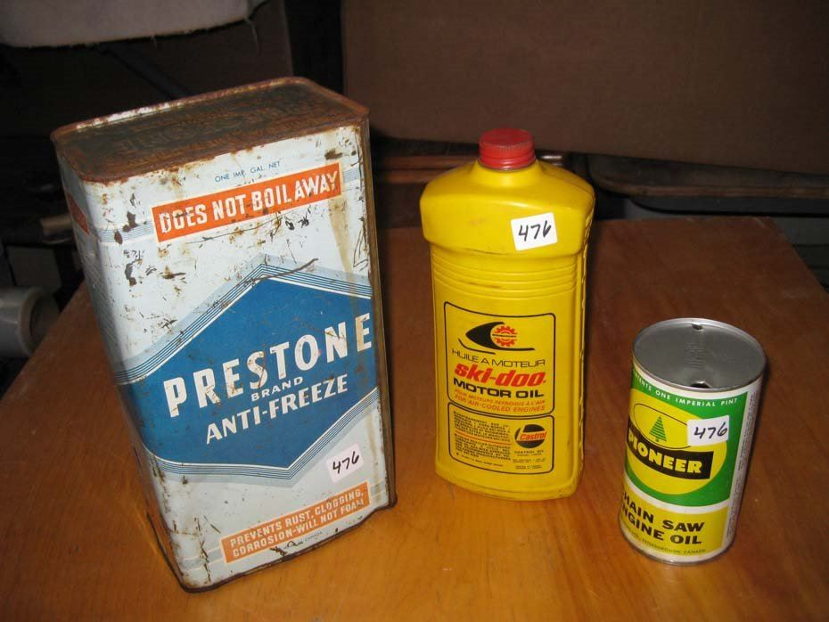 prestone anti freeze ski doo motor oil pioneer chain saw oil