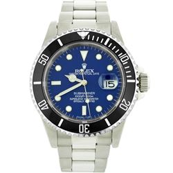 Mens Rolex Stainless Steel Date Submariner Watch
