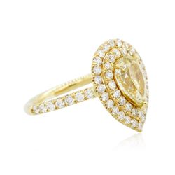 14KT Yellow Gold 2.52ctw Diamond Engagement Ring