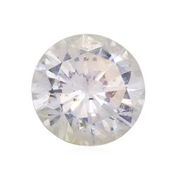 EGL Certified 0.80ct SI-3 F Brilliant Cut Round Diamond Gemstone