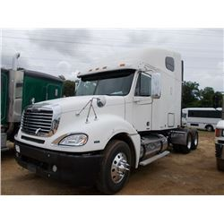 2007 freightliner columbia t a truck tractor vin sn for Freightliner mercedes benz