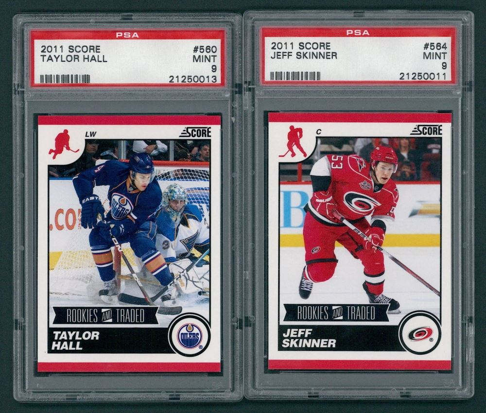 how to get hockey cards graded