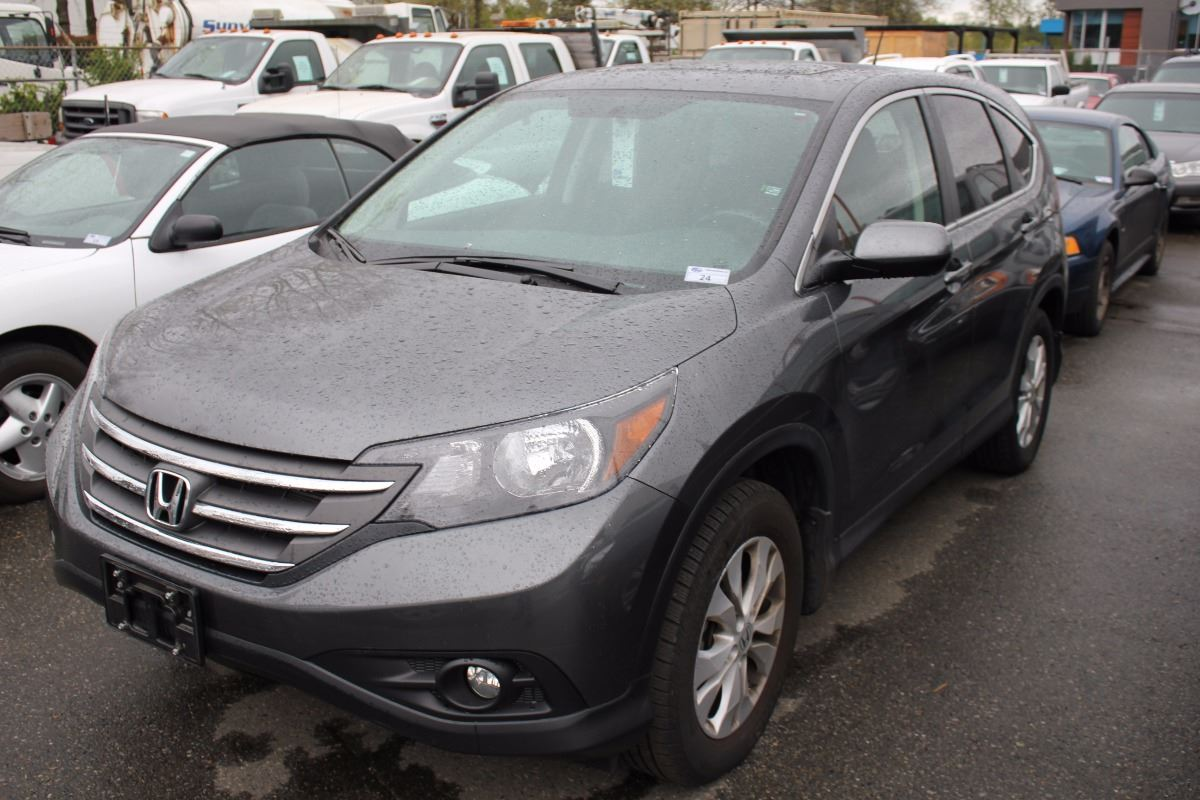 2013 honda cr v awd 4 door suv grey vin 2hkrm4h70dh118420 for Gray honda crv