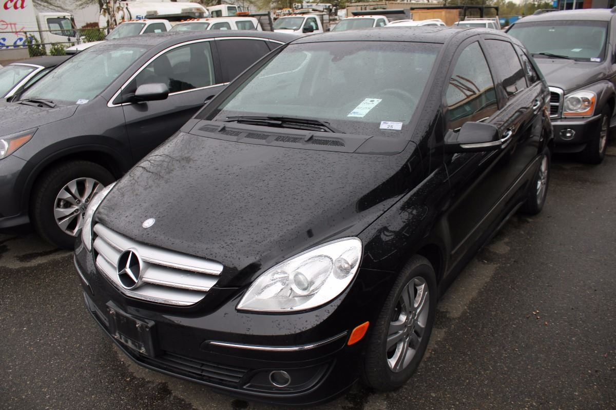 2007 mercedes b200 turbo 4 door hatchback black vin wddfh34x47j207593. Black Bedroom Furniture Sets. Home Design Ideas