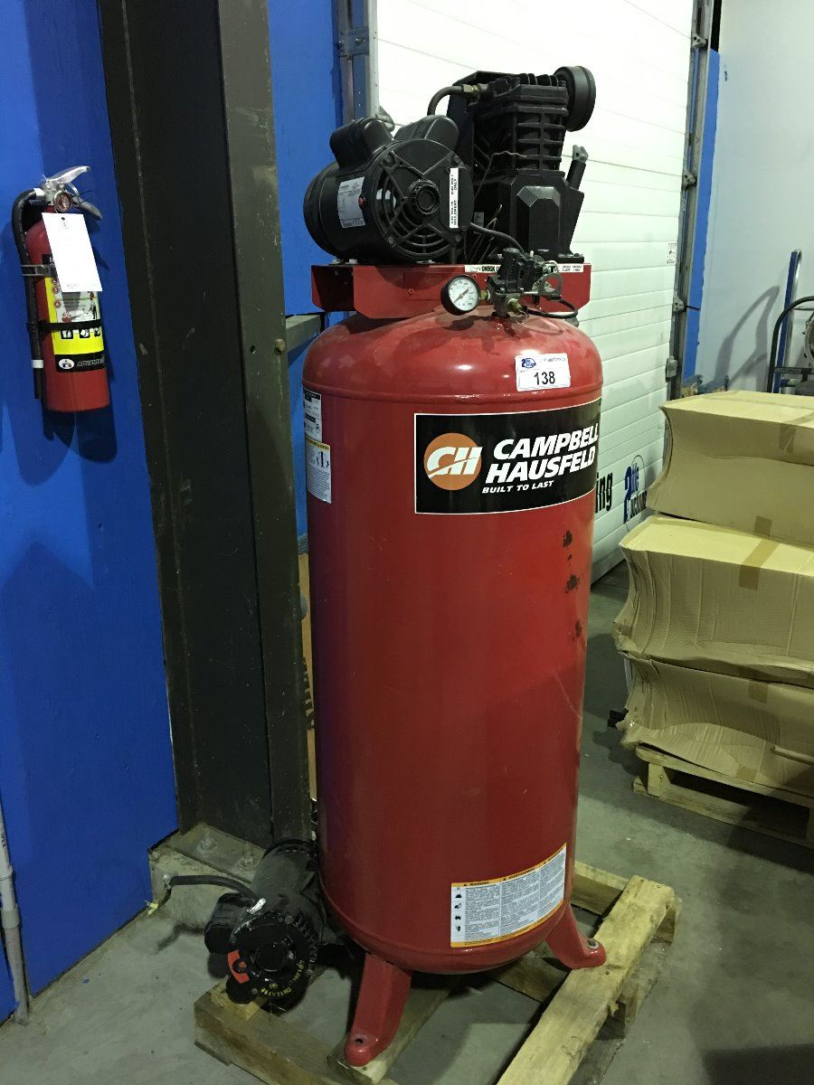 Campbell Hausfeld Industrial Air Compressor For Parts Or