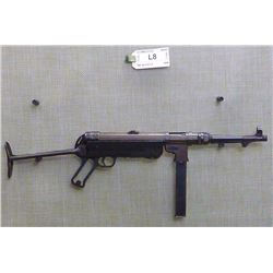SCHMEISSER ,  MODEL: MP 40 FXO 4 ,  CALIBER: 9MM
