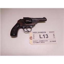 IVER JOHNSON ,  MODEL: SAFETY HAMMERLESS AUTOMATIC MOD3 ,  CALIBER: .32 S&W