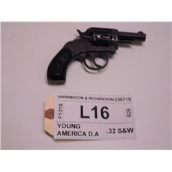 HARRINGTON & RICHARDSON ,  MODEL: YOUNG AMERICA DOUBLE ACTION ,  CALIBER: .32 S&W