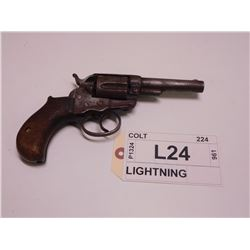 COLT  ,  MODEL: DOUBLE ACTION LIGHTNING ,  CALIBER: 38 LONG COLT