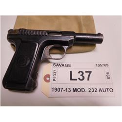 SAVAGE ,  MODEL: 1907-13 MOD. 2 ,  CALIBER: 32 AUTO