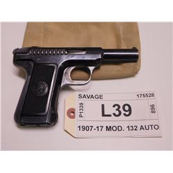 SAVAGE ,  MODEL: 1907-17 MOD. 1 ,  CALIBER: 32 AUTO