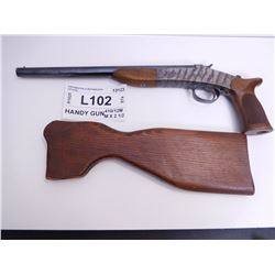 HARRINGTON & RICHARDSON ,  MODEL: HANDY GUN ,  CALIBER: 410/12MM X 2 1/2