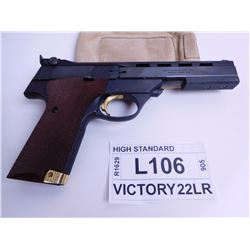HIGH STANDARD ,  MODEL: THE VICTOR ,  CALIBER: 22LR