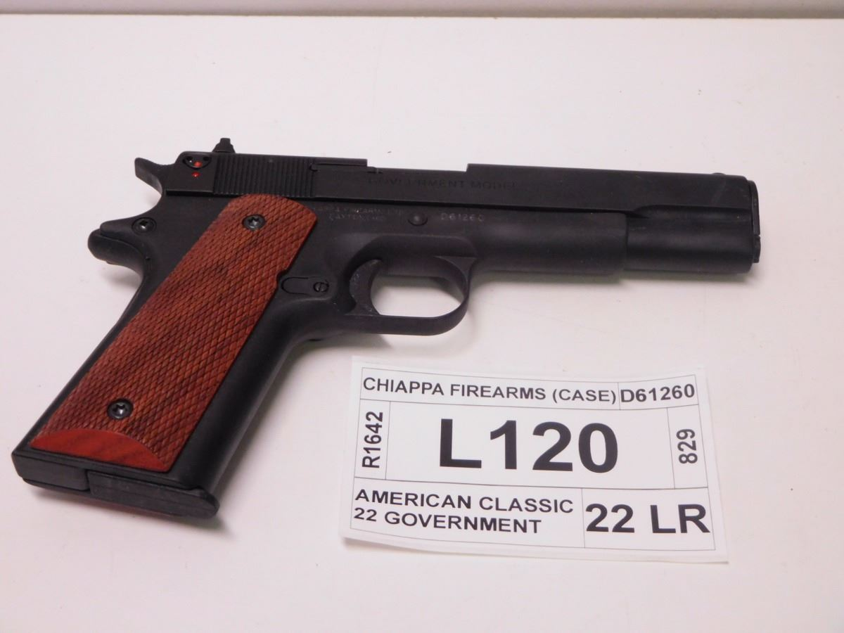 Chiappa firearms model american classic 22 government for American classic