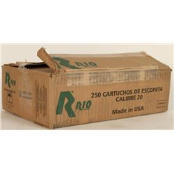 250 Rounds of Rio 12Ga Shotshells