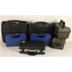 Lot of Pistol Storage Cases