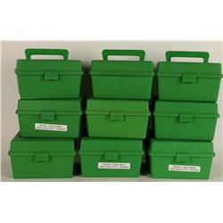 Lot of Caseguard Plastic Ammo Storage Boxes
