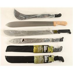 Lot of 6 Machetes