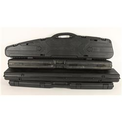Lot of 4 Hard Rifle Cases