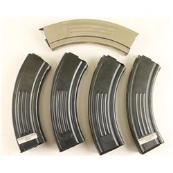 (5) Ruger Mini 30 Mags