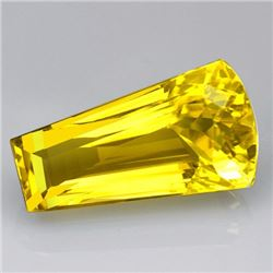 Gorgeous Natural Lemon Citrine Gemstone 49.55 Carats