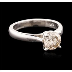 14KT White Gold 1.20ct Round Brilliant Cut Diamond Solitaire Ring