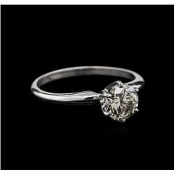 1.04ct Diamond Ring - 14KT White Gold